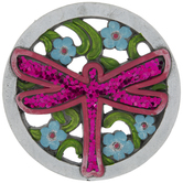 Sequin Dragonfly Stepping Stone