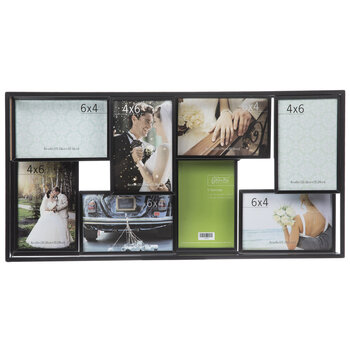 Dimensional Collage Metal Wall Frame