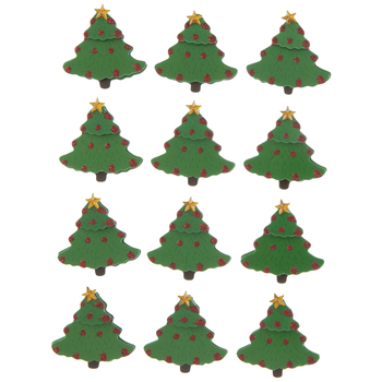 Christmas Trees 3D Stickers