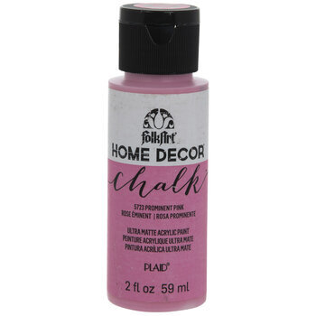 Prominent Pink Home Decor Chalk Paint