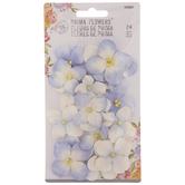 Periwinkle Prima Flower Embellishments