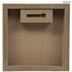 Plaid & Leather Letter Wood Wall Decor - U