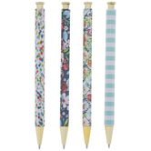 Blue & Gold Assorted Pens - 4 Piece Set