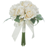 Ivory Carolina True Touch Rose Bouquet