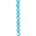 Aqua Luster Asymmetrical Glass Bead Strand - 10mm