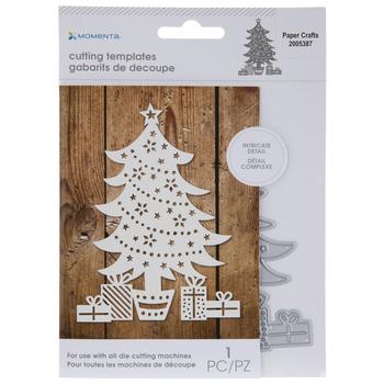 Christmas Tree & Presents Die