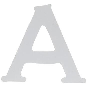 """White Wood Letter - 2 1/2"""""""