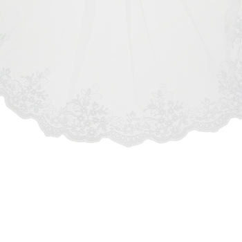 White Lace Veil