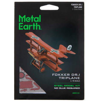 Fokker Dr.I Triplane Steel Model Kit