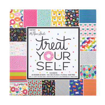 """Treat Yourself Paper Pack - 6"""" x 6"""""""