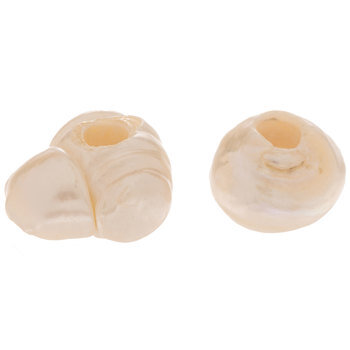 Large Hole Cultured Pearl Beads - 8mm-9mm
