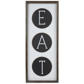 Eat Wood Wall Decor