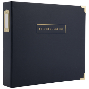 "Better Together 3-Ring Scrapbook Album - 12"" x 12"""