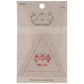 Mini Triangle Quilting Ruler