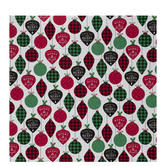 Merry & Bright Ornaments Gift Wrap