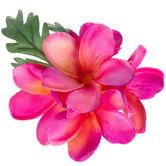 Bright Pink Plumeria Hair Clip