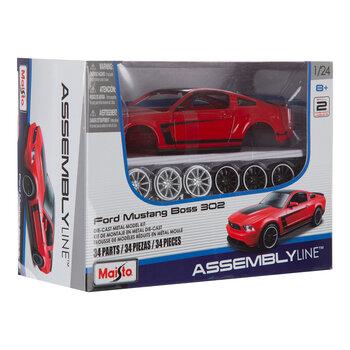 Ford Mustang Boss 302 Die-Cast Metal Model Kit