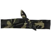 Camouflage Knot Headband