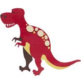 T-Rex Painted Wood Shape