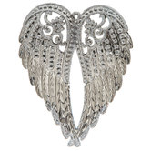 Silver Wings Ornament