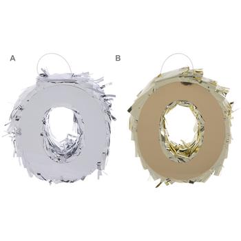Metallic Number Mini Pinata