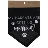 My Parents Are Getting Married Pet Scarf
