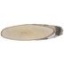 Birch Bark Oval Plaque - Large