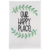 Our Happy Place Cloth Napkin