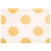 White & Gold Polka Dot Cards