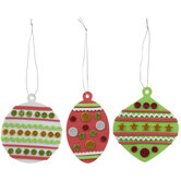 Christmas Ornaments Foam Craft Kit