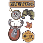 Hunting 3D Stickers