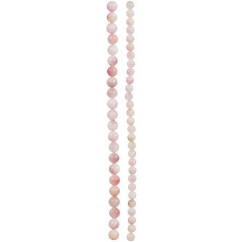 Pink & Green Dyed Jade Bead Strands