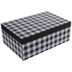 Black & White Buffalo Check Gift Box - 8 1/4