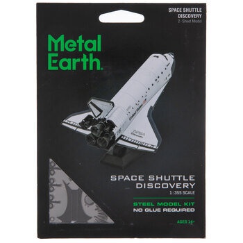 Space Shuttle Discovery Metal Model Kit