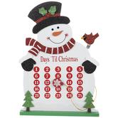 Snowman Countdown Calendar