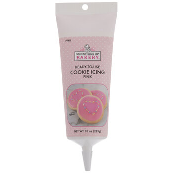 Pink Ready-To-Use Cookie Icing