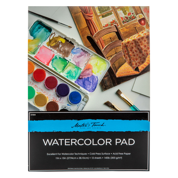 Master's Touch Watercolor Paper Pad
