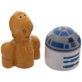 R2D2 & C3PO Star Wars Salt & Pepper Shakers