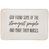 Strongest People Are Nurses Jewelry Dish