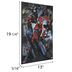 Spider-Man Characters Wood Wall Decor