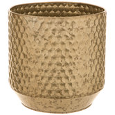 Honeycomb Metal Flower Pot