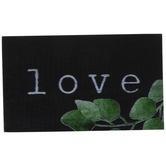 Love With Greenery Wood Decor