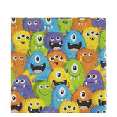 Monster Party Napkins - Large