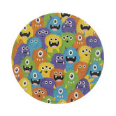 Monster Party Paper Plates - Small