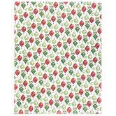 """Red &  Green Ornaments Scrapbook Paper - 8 1/2"""" x 11"""""""