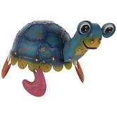 Multi-Color Metal Sea Turtle