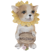 Welcome Flower Chihuahua