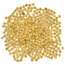 Gold Scalloped Beads - 4mm