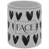 Face Heart Pot