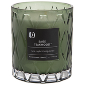 Sage Teakwood Jar Candle